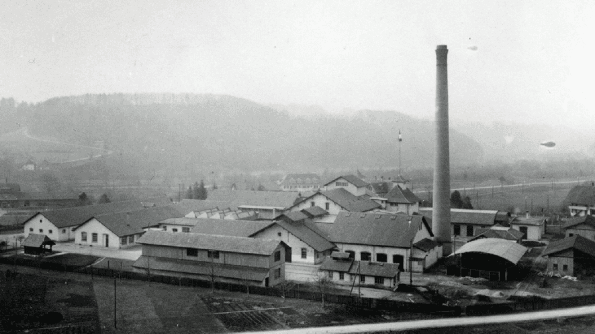 Ovomaltine factory in 1927